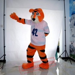 Halloween Sport Tiger Mascot Costume