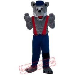 Halloween Wolf Mascot Costume