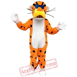 Dark Brown Lion Mascot Costume