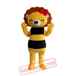 Bee Bear Mascot Costume