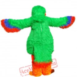 Green Macaw / Parrot / Eagle Mascot Costume