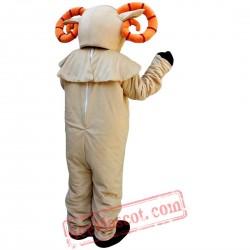 Antelope Sheep Mascot Costume