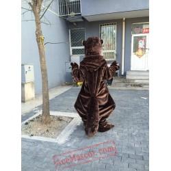 Beaver Otter Mascot Costume