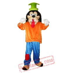 Goofy Dog Mascot Costume for Adult