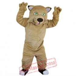 Cat Tiger / Leopard Mascot Costume for Adult