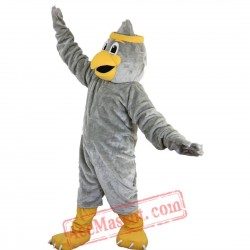 Ggrey Eagle Mascot Costume for Adult