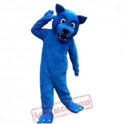 Blue Wolf Leopard Mascot Costume for Adult