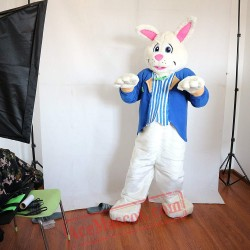 White Rabbit Mascot Costume for Adult