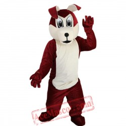 Wolf Dog Mascot Costume for Adult