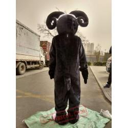 Black Goat Mascot Costume for Adult