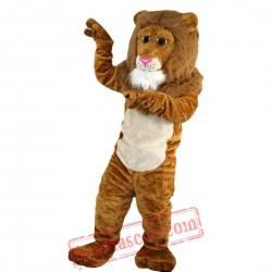 Yellow Brown Mascot Costume for Adult