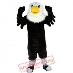 Black Eagle Mascot Costume for Adult
