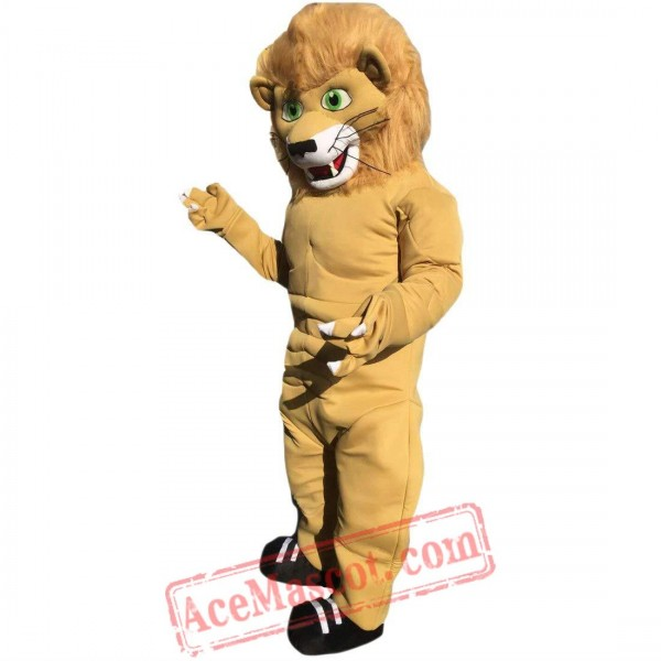 Strong Lion Mascot Costume for Adult