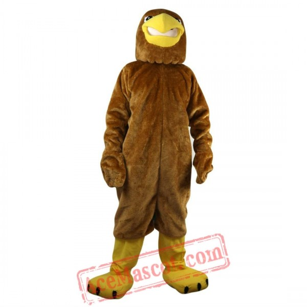 Brown Sport Eagle Mascot Costume for Adult