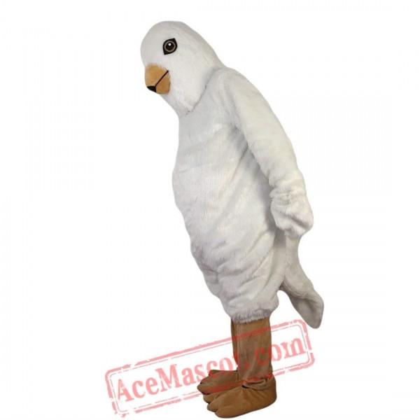 White Bird Eagle Mascot Costume for Adult