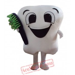 Tooth Mascot Costume for Adult Size