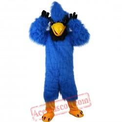 Blue Eagle Mascot Costume for Adult