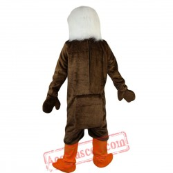 Brown Eagle Bird Mascot Costume for Adult