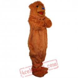 Brown Bear Mascot Costume for Adult