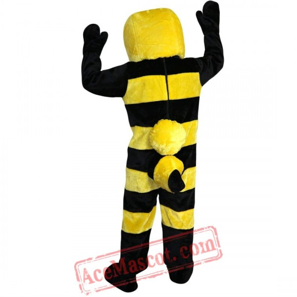 Yellow Bee Mascot Costume for Adult