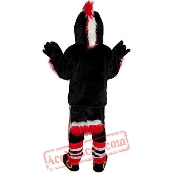 Black Eagle Mascot Costume
