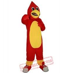 Red Bird Eagle Animal Mascot Costume