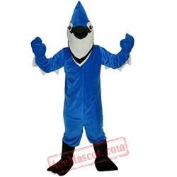 Blue Eagle Animal Mascot Costume