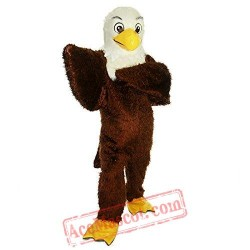 Brown Eagle / Hawk Mascot Costume