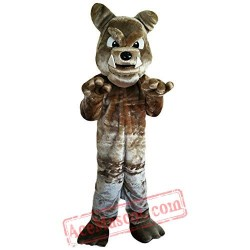Bulldog Animal Mascot Costume
