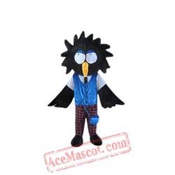 Black Crow Bird Mascot Costume