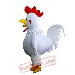 White Hen'S Mascot Costume