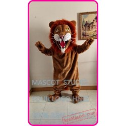 Plush Lion Mascot Costume