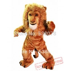 Savannah Lion Mascot Costume