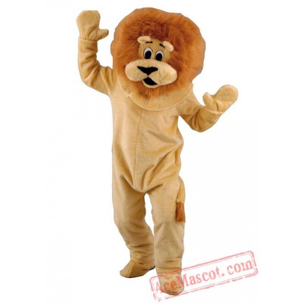 Brown Lion  Mascot Costumes for Adults