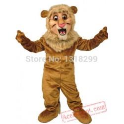 Happy Lion King Mascot Costume