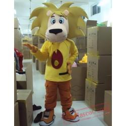 King Lion Mascot Costume