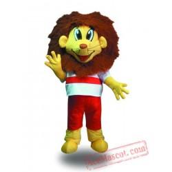 Professional Sport Lion Mascot Costume
