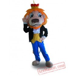 Professional Crown Lion Mascot Costume