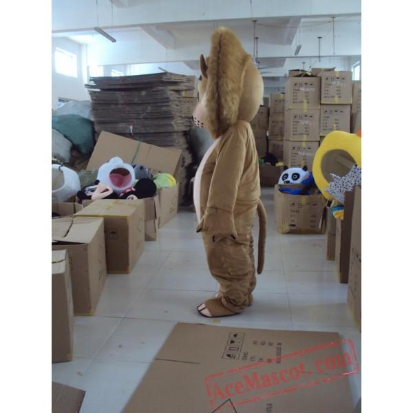 Adult Character Lion Maascot Costume