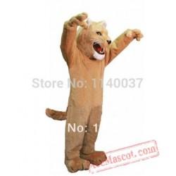King Lion Leo Mascot Costume