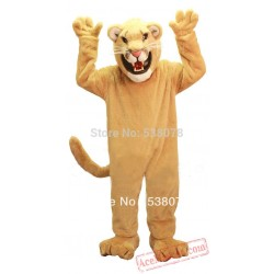 Professional Golden Lion Mascot Costume