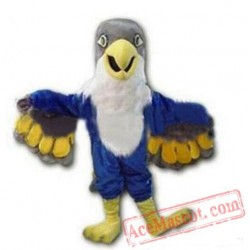 Blue Falcon / Eagle Mascot Costume