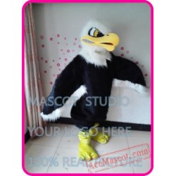 Plush Eagle / Falcon / Hawk Mascot Costume