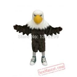 Eagle Mascot Costume Plush Falcon / Hawk