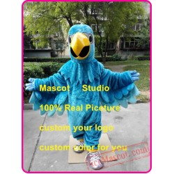 Blue Falcon Mascot Costume Eagle / Hawk