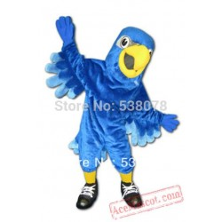 Custom Made Blue Falcon Mascot Costume