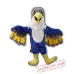 Blue Falcon Mascot Costume Eagle