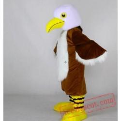 Professional Animal Long Fur Eagle Mascot Costume