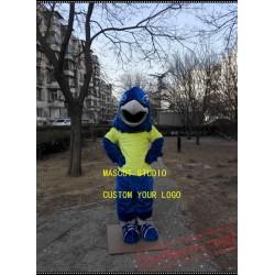 Blue Falcon Mascot Hawk / Eagle Mascot Costume
