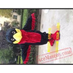Red Hawk Mascot Costume Falcon / Eagle Mascot